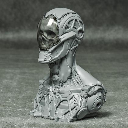 Rockerbot Bust
