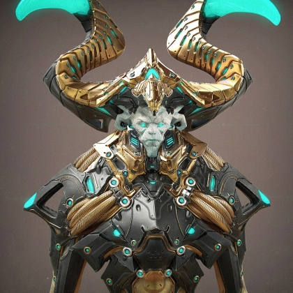 God of Birds - Character Concept in Zbrush and Keyshot (Cubebrush)