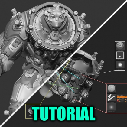 3D Concept Workflow Tips from Zbrush Summit 2019